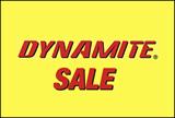 Dynamite Sale