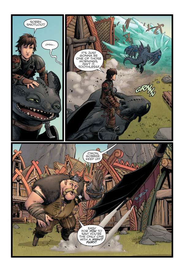 How to Train Your Dragon: The Serpent's Heir TPB ...