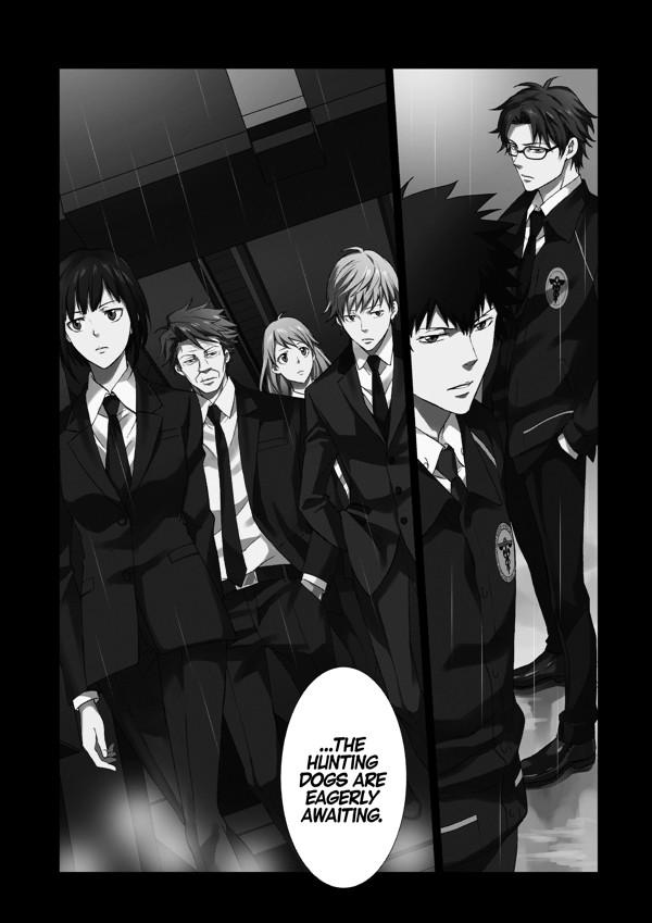 Psycho Pass Inspector Shinya Kogami Volume 1 Tpb