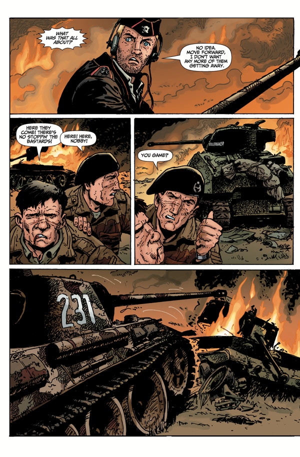 Military Tanks For Sale >> World of Tanks #2 :: Profile :: Dark Horse Comics