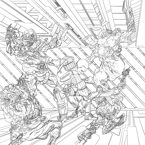 mass effect 3 coloring pages - photo#27