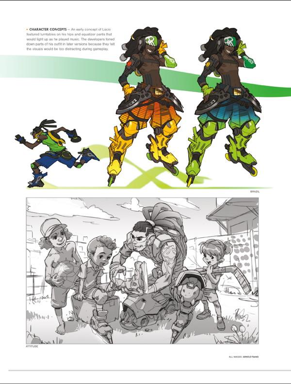 The Art Of Overwatch Hc Profile Dark Horse Comics