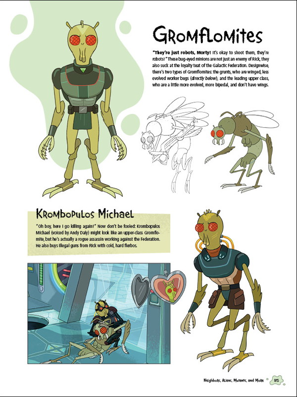 The Art Of Rick And Morty Hc Profile Dark Horse Comics