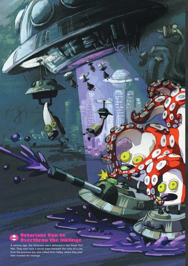 The Art Of Splatoon Hc Profile Dark Horse Comics