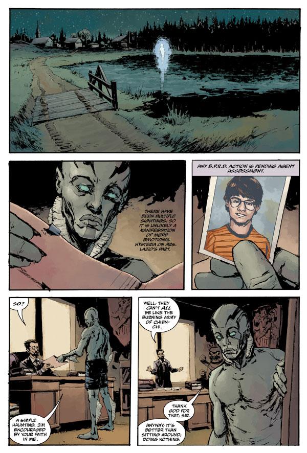 Patric Reynolds Dark Horse Comics
