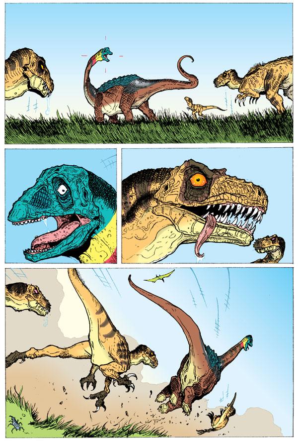 Age Of Reptiles Omnibus Volume 1 Profile Dark Horse