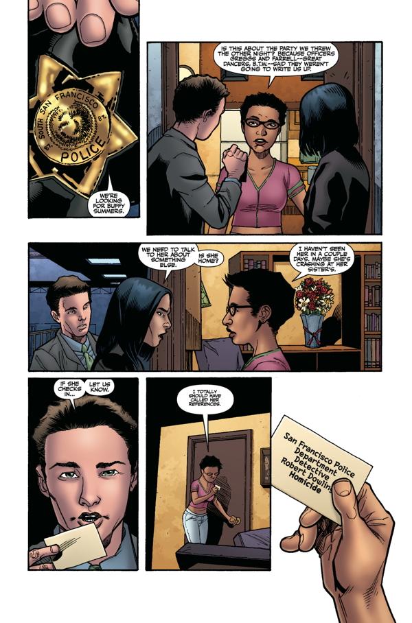 Buffy Season 9 #3 Page 1