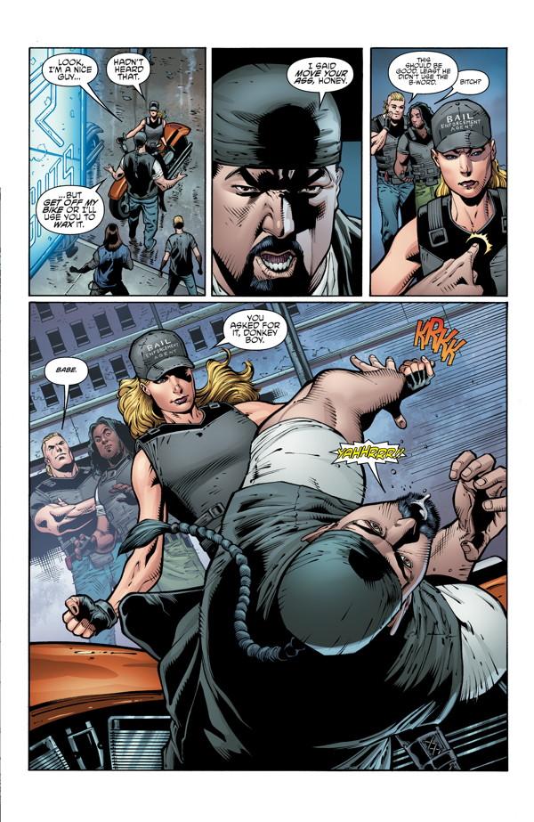barb wire 1 profile dark horse comics