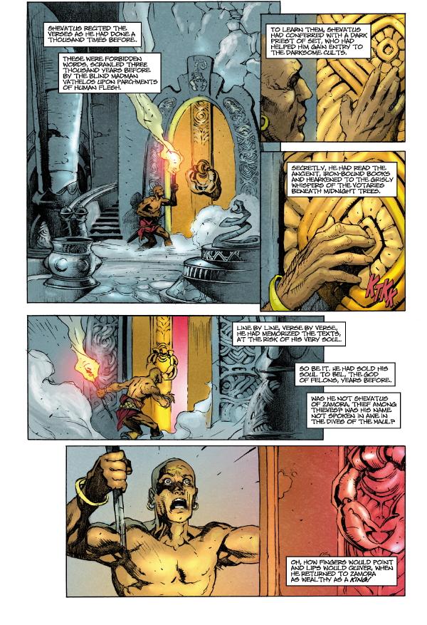 Conan Volume 8 Black Colossus Hc Profile Dark Horse