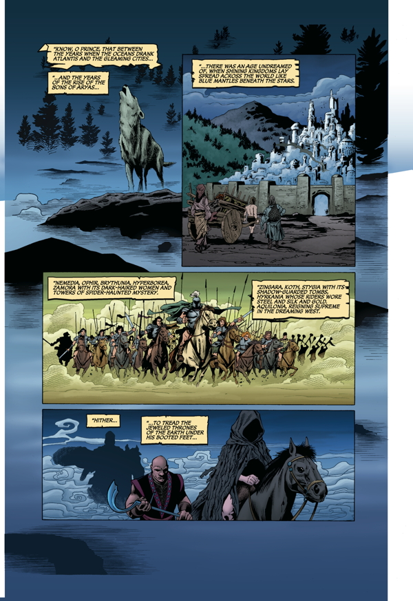 Conan The Barbarian The Mask Of Acheron Tpb Profile