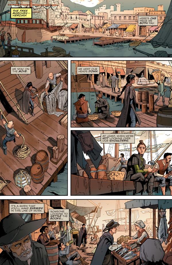 Dragon Age Magekiller 1 Profile Dark Horse Comics