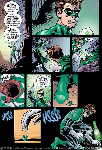 kyle rayner green lantern symbol. Green Lantern vs.