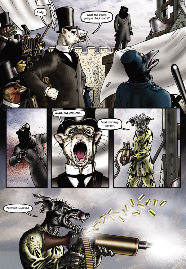 Grandville Mon Amour Hc Profile Dark Horse Comics
