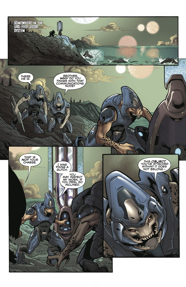 Halo Escalation 19 Profile Dark Horse Comics