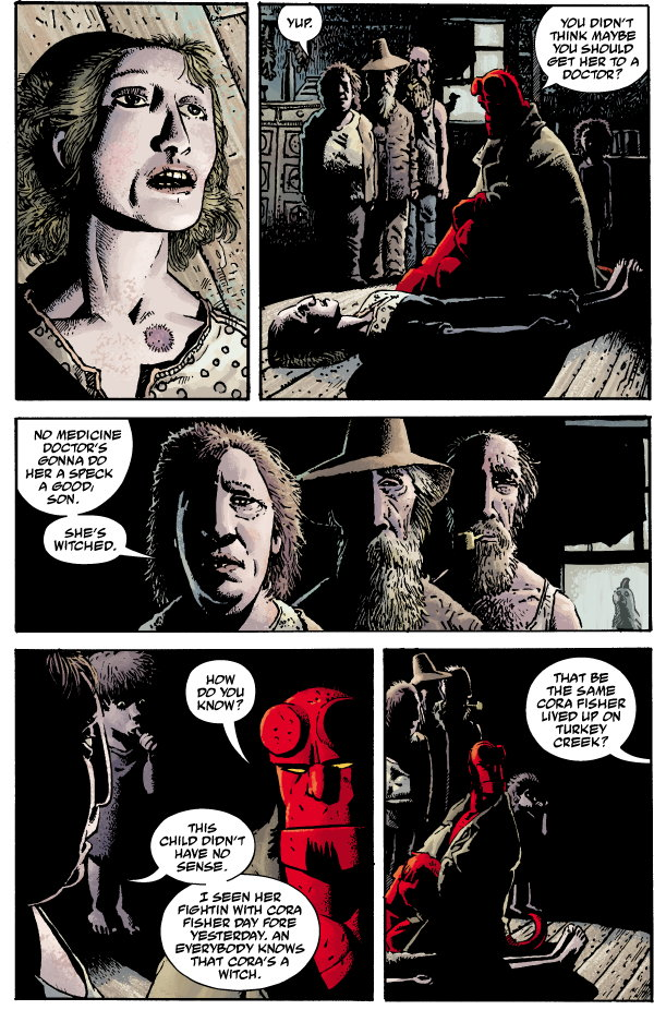 hellboy volume 10  the crooked man and others tpb