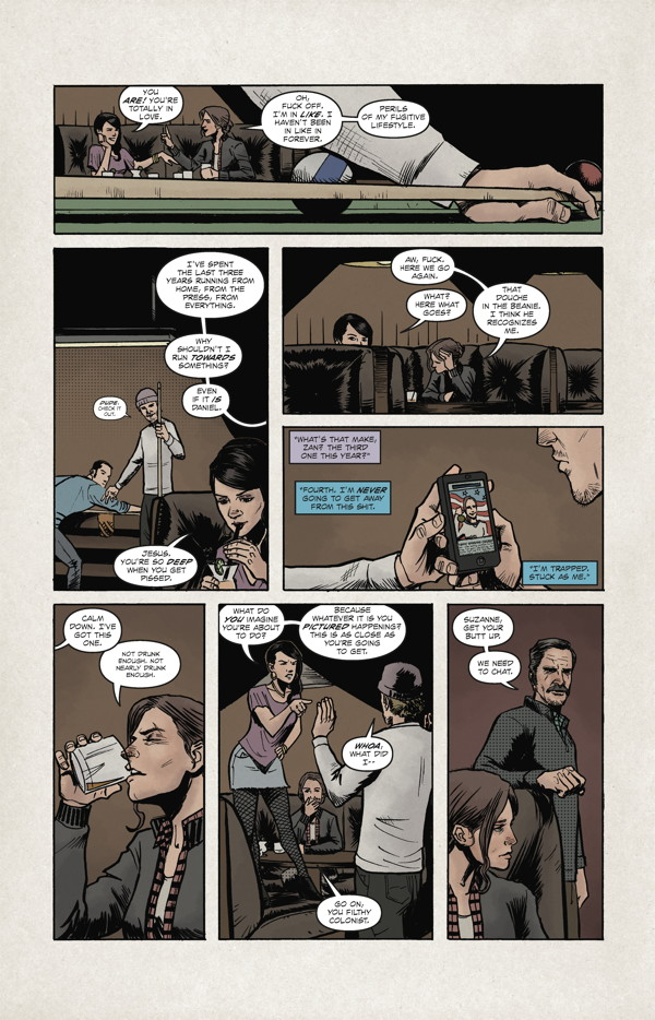 High Crimes Hc Profile Dark Horse Comics