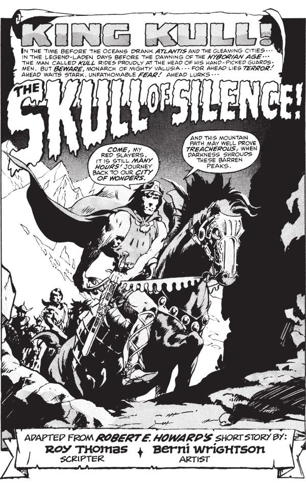 The Savage Sword Of Kull Volume 1 Profile Dark Horse
