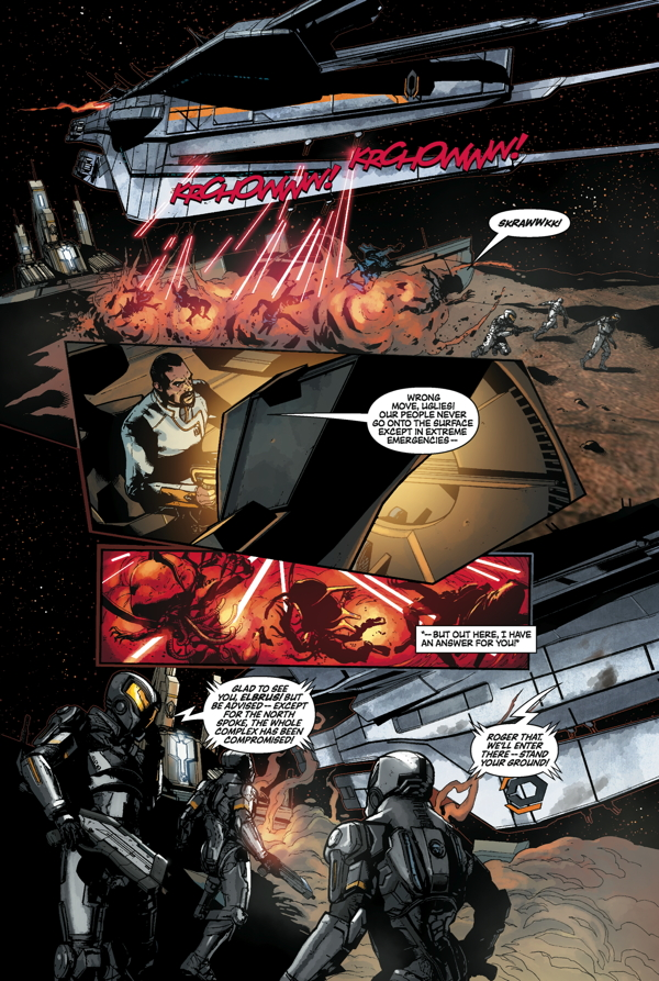 Mass Effect: Invasion #2 Page 1