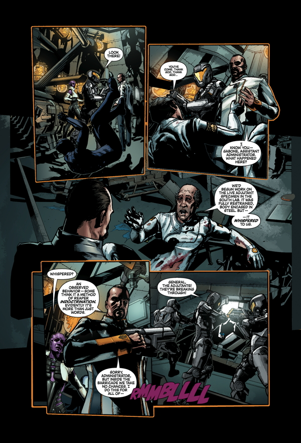 Mass Effect: Invasion #2 Page 3