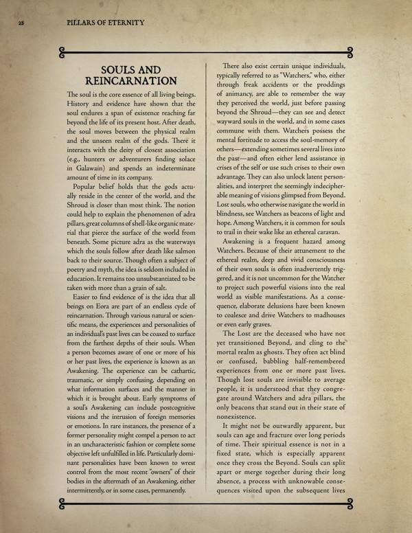 pillars of eternity guidebook volume one pdf