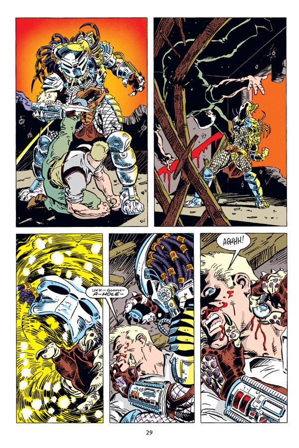 Predator Omnibus Volume 1 Profile Dark Horse Comics