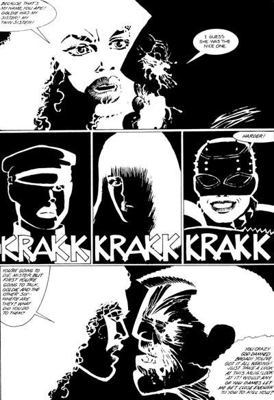 Sin City Tpb Profile Dark Horse Comics
