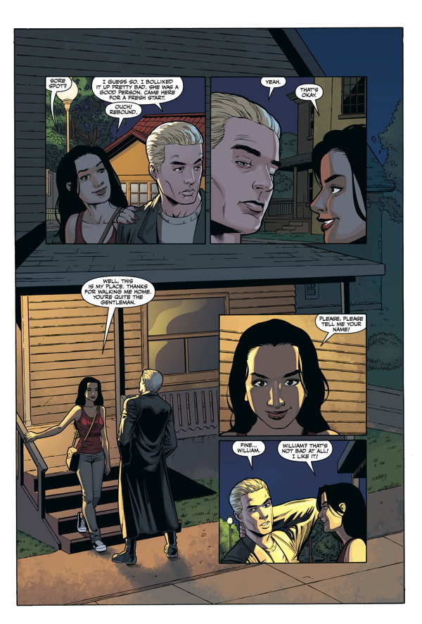 Buffy The Vampire Slayer Spike Into The Light Hc