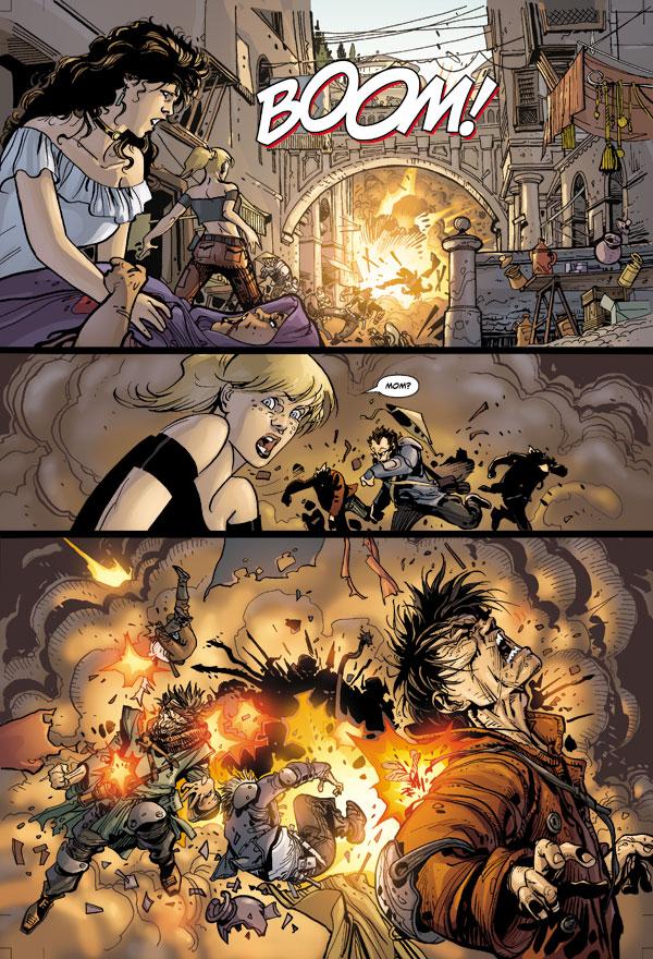 Star Wars Invasion 1 Profile Dark Horse Comics