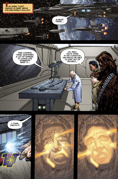 Star Wars: Infinities - Return of the Jedi TPB :: Profile ...