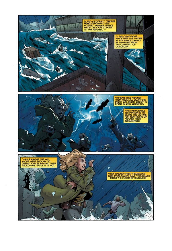Star Wars: Knight Errant - Deluge #4 Page 1