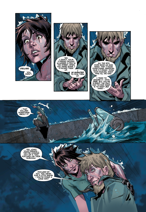 Star Wars: Knight Errant - Deluge #4 Page 6