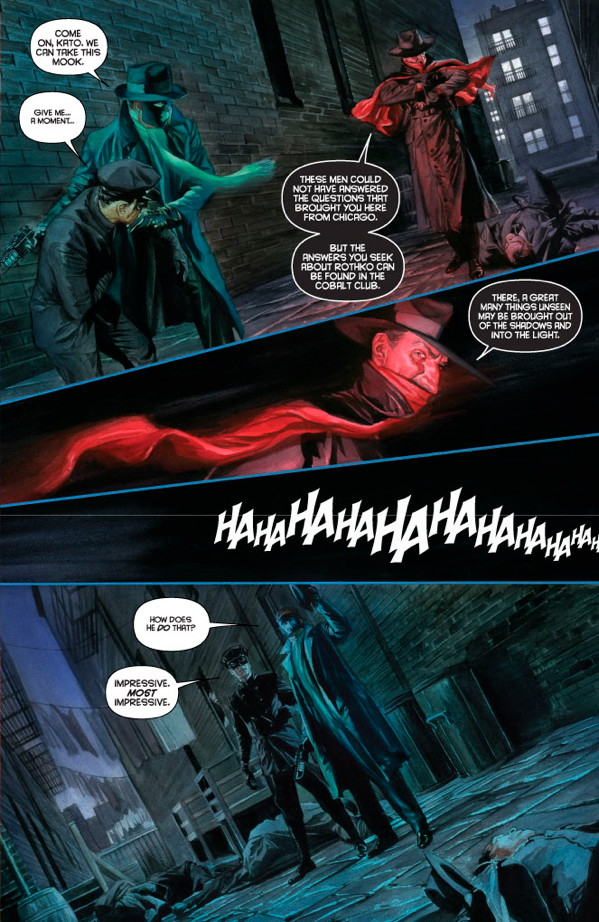 Masks #1 Preview Page 4