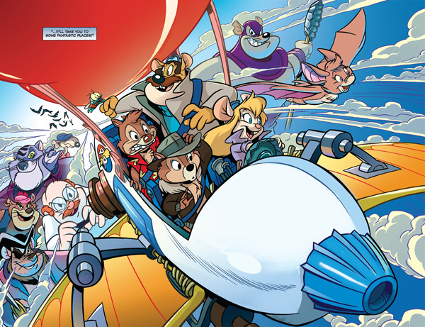 Chip and Dale Rescue Rangers #1 First Look