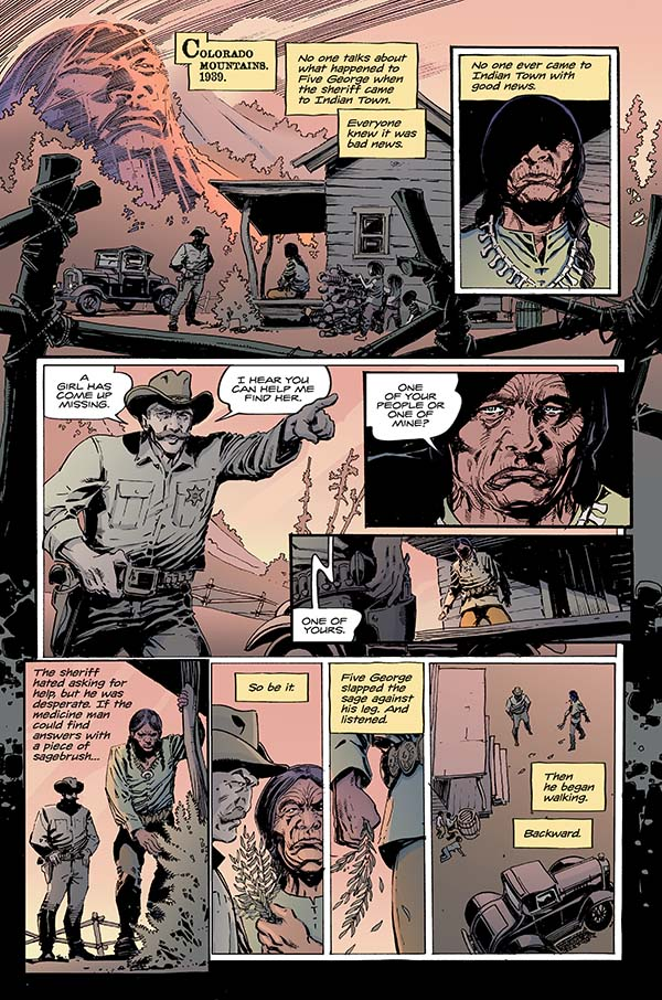 To Hell You Ride #1 Preview Page 1