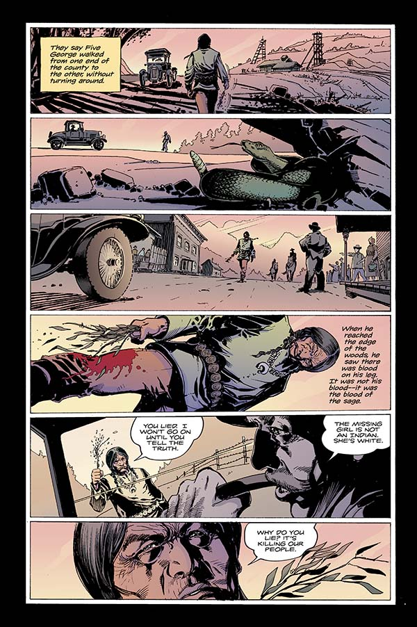 To Hell You Ride #1 Preview Page 2