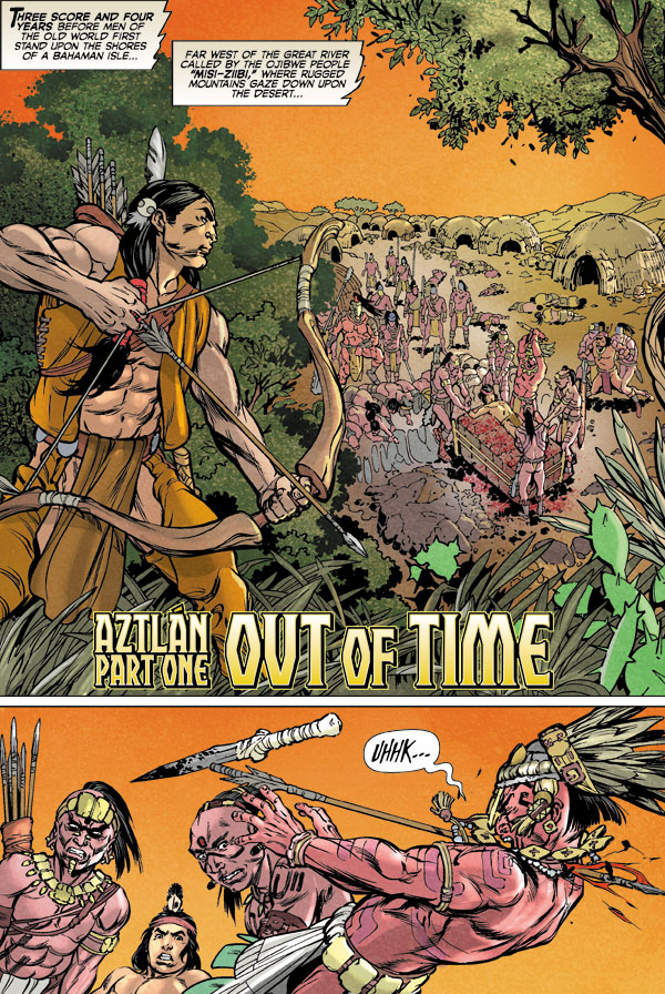 Turok Son Of Stone Aztlan Volume 1 Tpb Profile Dark Horse Comics