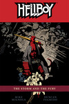 Hellboy Volume 12: The Storm and The Fury TPB - nick & dent