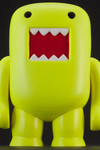 "4"" Domo Vinyl Figure: Black Light Yellow"