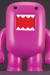 "4"" Domo Vinyl Figure: Black Light Purple"
