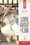 Lone Wolf and Cub Omnibus Volume 5 TPB - nick & dent
