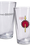 Game of Thrones Pint Glass: Martell Sigil
