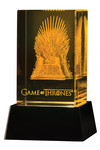 Game of Thrones: 3-D Crystal Iron Throne with Illumination Base