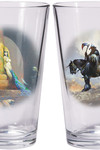 Frazetta ''Warriors & Women'' Boxed Pint Glass Sets: Death Dealer and Egyptian Queen