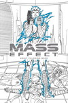 Mass Effect Adult Coloring Book TPB