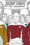 Star Trek: The Next Generation Adult Coloring Book Volume 02 - Continuing Missions TPB
