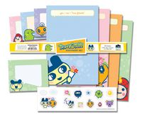 Tamagotchi Stationery Set