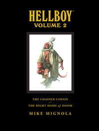 Hellboy Library Edition Volume 2: The Chained Coffin, The Right Hand of Doom, and Others HC