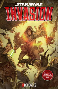 Star Wars: Invasion Volume 1 - Refugees TPB - nick & dent