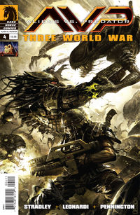 Aliens vs. Predator: Three World War #4