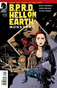 B.P.R.D. Hell on Earth: Monsters #1 (Ryan Sook cover)